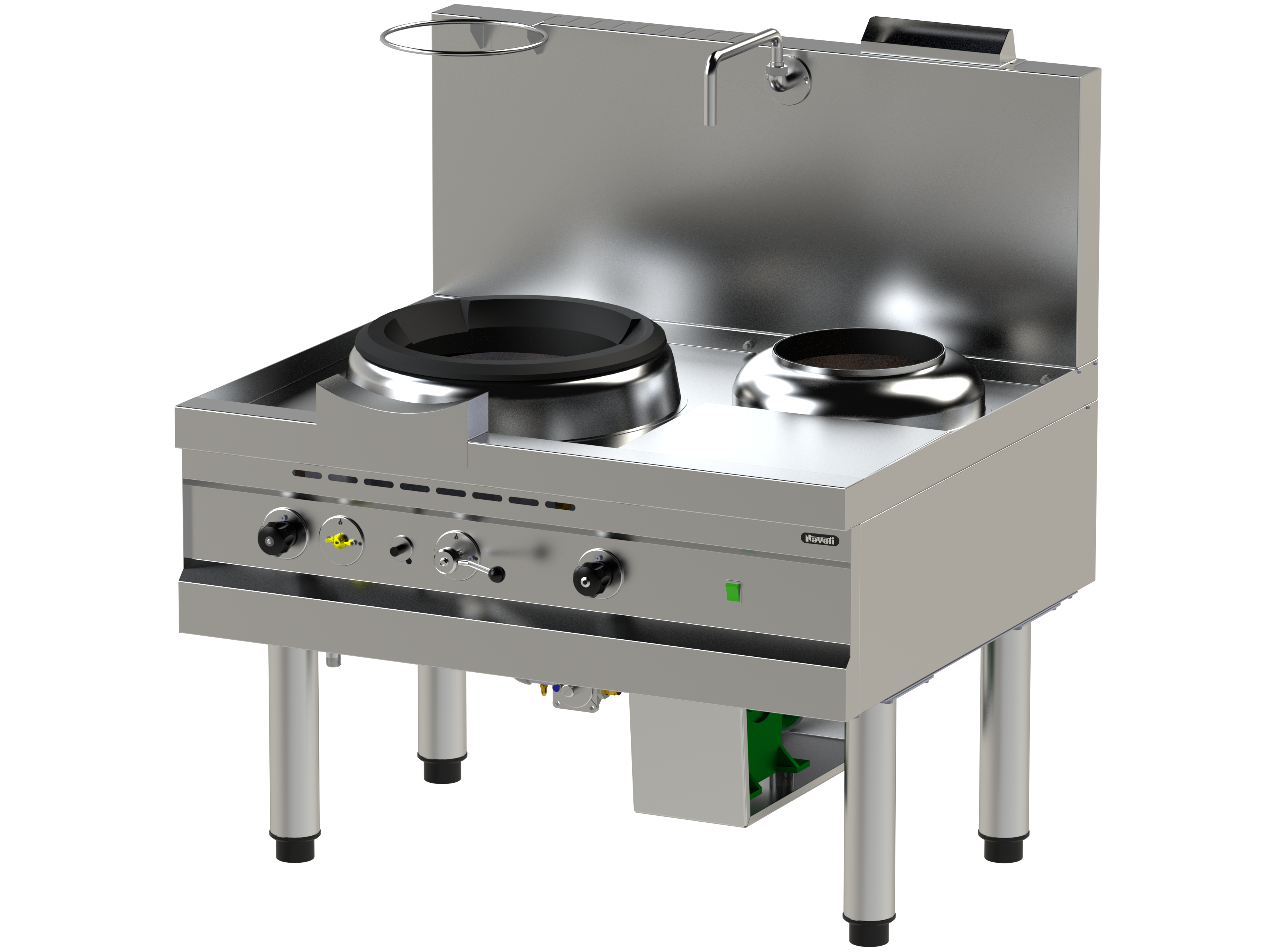 nayati europe  total food service solution  gas turbo wok